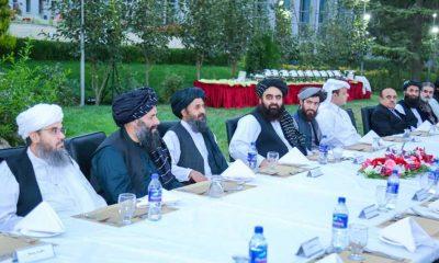 """Taliban'ın """"Dışişleri Bakan Vekili"""" Muttaki, yabancı misyon temsilcileriyle bir araya geldi"""