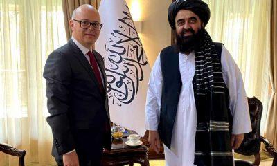 """Türkiye'nin Kabil Büyükelçisi Erginay, Taliban'ın """"Dışişleri Bakan Vekili"""" Muttaki'yle görüştü"""