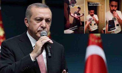 """Üniversiteli gençten Erdoğan taklidi: """"İnşallah son cümlelerim olmaz"""""""