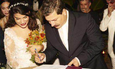 Ünlü fotoğrafçı Mehmet Turgut ile caz yorumcusu Ada Sanlıman evlendi