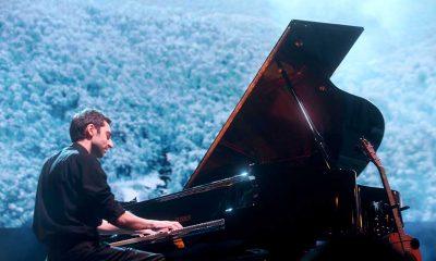 Rus müzisyen, piyanist ve davulcu Evgeny Grinko, Üsküdar'da konser verdi