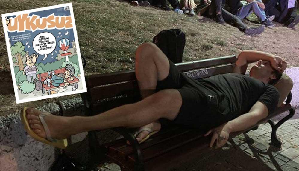 Uykusuz, 'barınamayanlar'ı kapağına taşıdı: Ohh, metroya yürüme mesafesindeki bankı kapmışsın!
