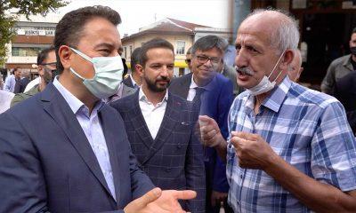Vatandaştan Babacan'a: Siz biraz daha hızlı sallasanız düşecekler. Az sallıyorsunuz gibi geliyor