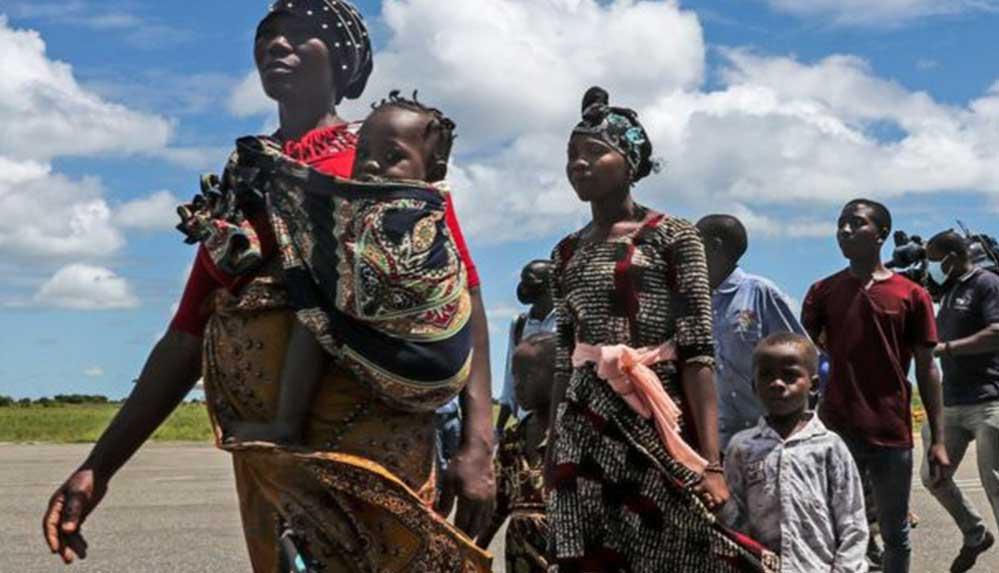 Mozambik'te çatışmalardan etkilenen Palma bölgesine 6 ay sonra ilk insani yardım ulaştı