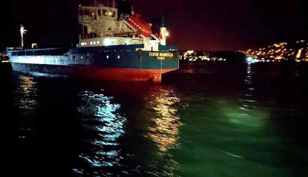 Yeniköy'de Türk ve Rus bandralı 2 kuru yük gemisi çarpıştı