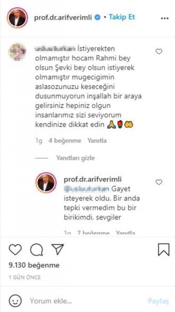 Arif Verimli'den 'Müge Anlı' mesajına şaşırtan yanıt: Gayet isteyerek oldu