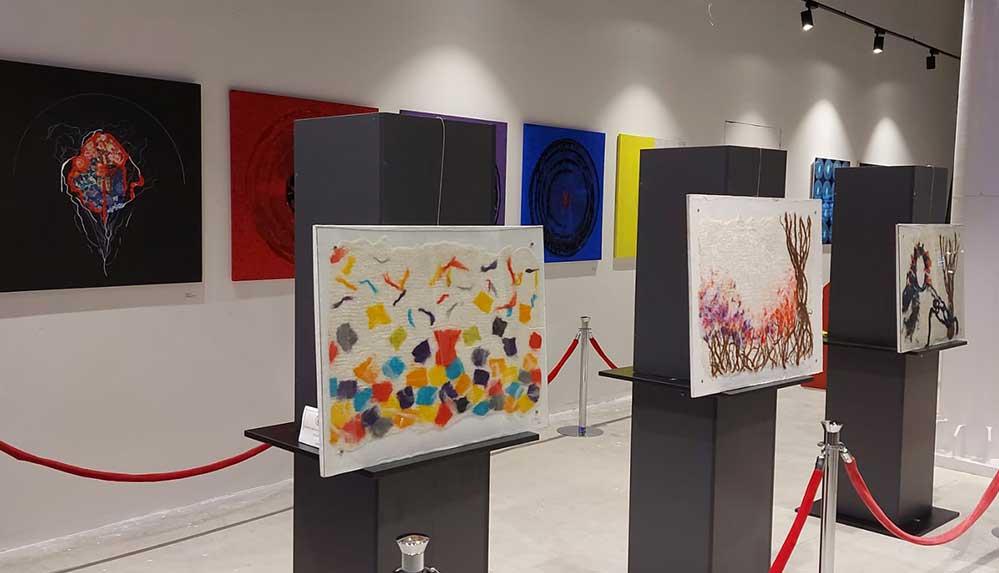 Gökçe Oflu'nun sergisi 'Retrospektif' sanatseverleri bekliyor