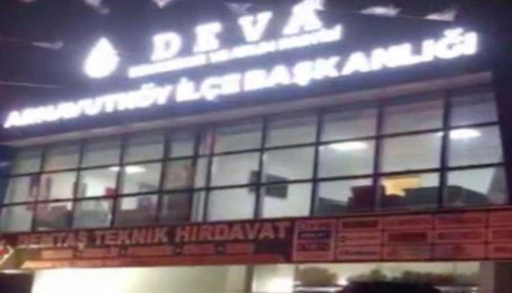 İstanbul'da DEVA Partisi binasının kurşunlanması ile ilgili açıklama