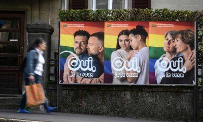 """İsviçre'deki eş cinsel evliliklerle ilgili referandumda seçmenlerin yüzde 64'ü """"evet"""" dedi"""