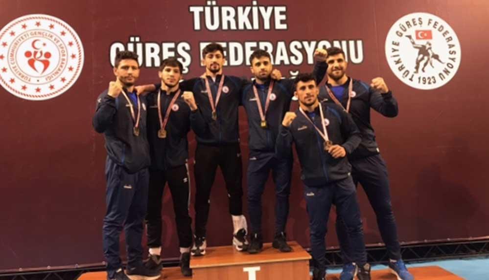 Grekoromen Güreş Süper Lig müsabakaları Ankara'da sona erdi