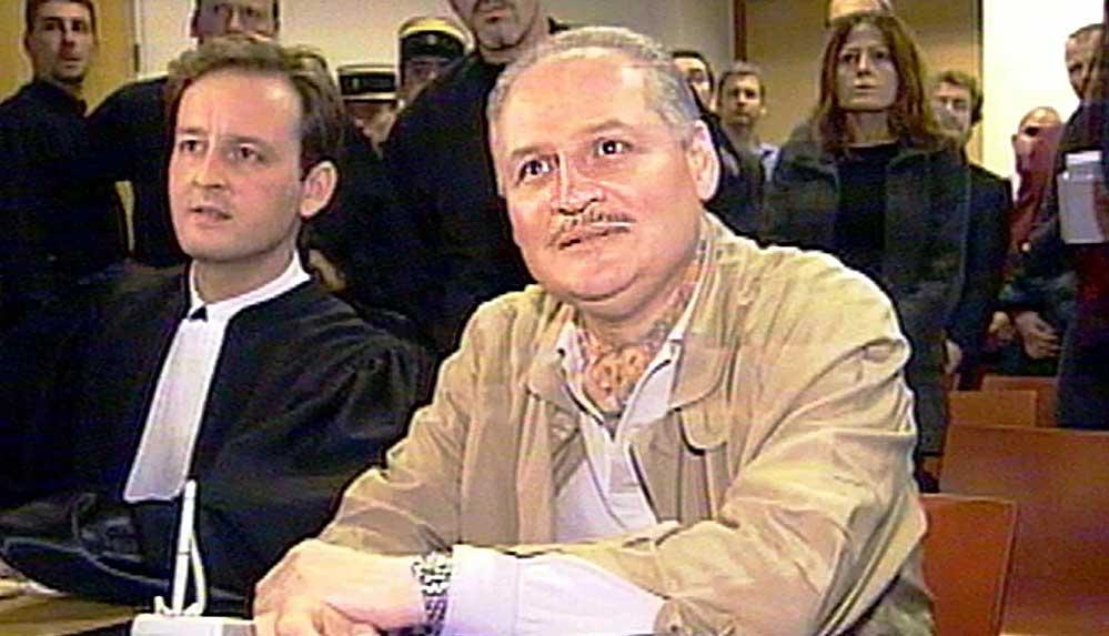 3 kez müebbet hapse çarptırılan 'Çakal Carlos' tekrar hakim karşısında