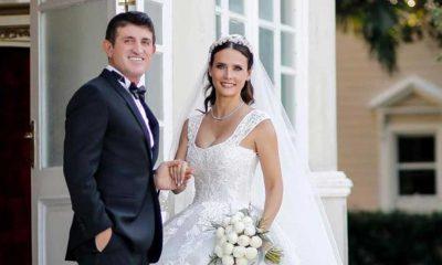 Oyuncu Fatoş Kabasakal ve eşi evlendikten 3 sene sonra düğün yaptı