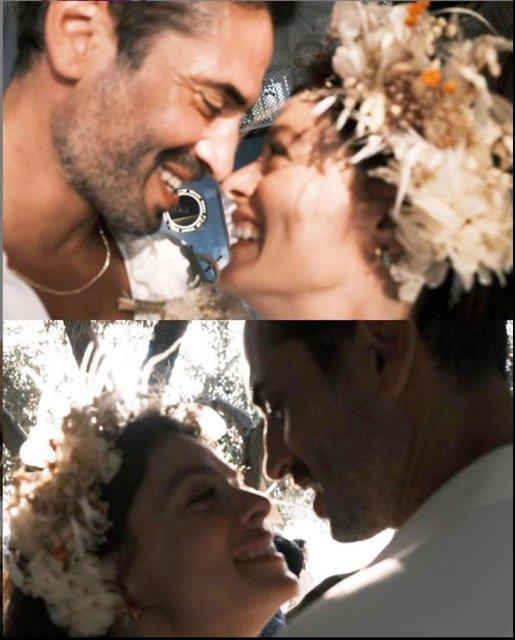 Özge Özpirinçci ve Burak Yamantürk'ün nikah fotoğrafları ortaya çıktı