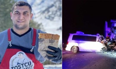 Sosyal medya fenomeni 'Tostçu Mahmut' trafik kazasında hayatını kaybetti