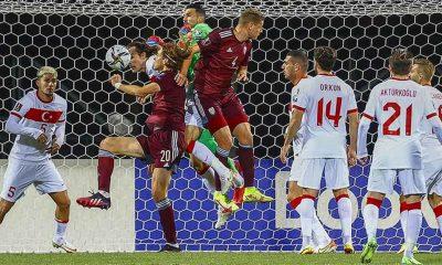 A Milli Futbol Takımı, Letonya'yı uzatmalarda devirdi
