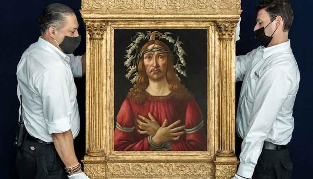 Açık artırmaya çıkıyor: Botticelli tablosunun 40 milyon dolara satılması bekleniyor