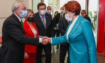 Akşener, Kılıçdaroğlu'nu CHP Genel Merkezi'nde ziyaret etti: Bütün sorunlarından Türkiye'yi kurtaracağız