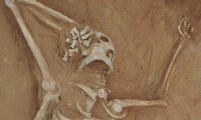 Dünyanın en eski cinayet vakası bin 300 yıl sonra çözüldü