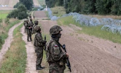 Polonya sığınmacı krizi nedeniyle Belarus sınırına duvar örecek