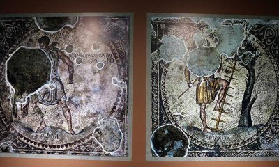 Hatay'daki 'Bağ Bozumu Mozaiği' görücüye çıkmaya hazır