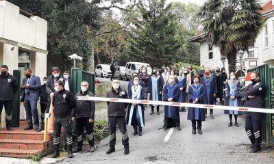 Akademisyen Can Candan, rektörlük talimatı ile Boğaziçi Üniversitesi'ne alınmadı