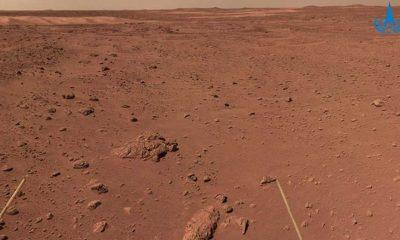 """Çin'in Mars keşif araçları """"güneş kesintisi"""" nedeniyle faaliyetlerine ara verdi"""
