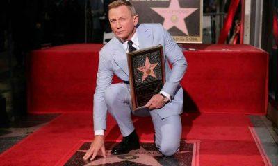 Hollywood Şöhretler Kaldırımı'nda Daniel Craig'in de yıldızı oldu