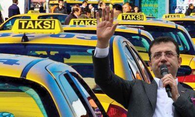 Ekrem İmamoğlu yeni taksi sistemini açıkladı: 'Ortalama aylık net 6 bin 622 TL olacak'