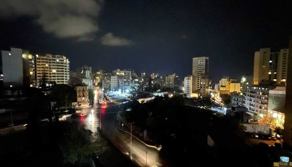 Elektrik santrallerdeki yakıtın bitmesinin ardından Lübnan karanlığa gömüldü