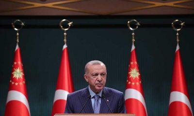 """Erdoğan: """"Ülkemizi siyasi kaos, ekonomik yıkım, sosyal çatışma iklimine döndürmek isteyenler var. Kim bunlar? CHP."""""""