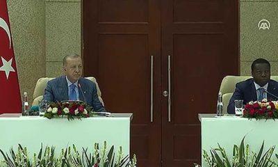 Erdoğan: FETÖ belasından dost ülkelerin de temizlenmesini istiyoruz