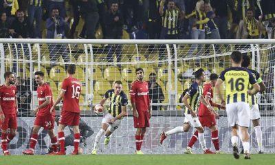 Fenerbahçe, Belçika ekibi Royal Antwerp ile berabere kaldı