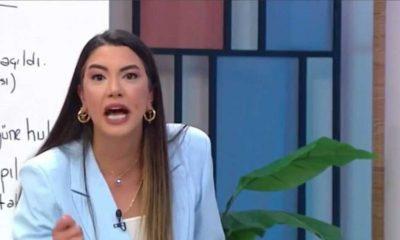 Fulya Öztürk, kendisini eleştiren Fatih Portakal'a canlı yayında ateş püskürdü