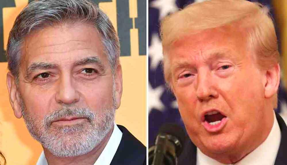 George Clooney: Trump, başkan seçilmeden önce kız peşinde koşan bir adamdı