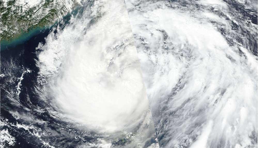 Hong Kong'da Kompasu tropik siklonu nedeniyle 8'inci derece alarm ilan edildi