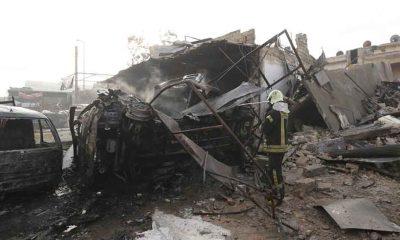 İdlib'de pazar yerine düzenlenen saldırıda 10 kişi öldü, 35 kişi yaralandı
