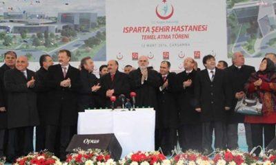 Kılıçdaroğlu'nun duyurduğu o belge ortaya çıktı: Isparta Şehir Hastanesi̇'nin temeli̇, ihalesi yapılmadan atıldı