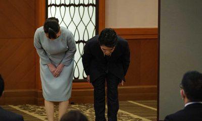 Aşkı için kraliyet unvanlarından vazgeçen Prenses Mako basının karşısına çıktı