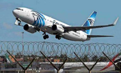 Kahire-Moskova seferini yapan Mısır uçağı tehdit mektubu nedeniyle geri döndü