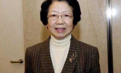 Japonya'nın tek kadın Kabine Baş Sekreteri ve Hükümet Sözcüsü Moriyama öldü