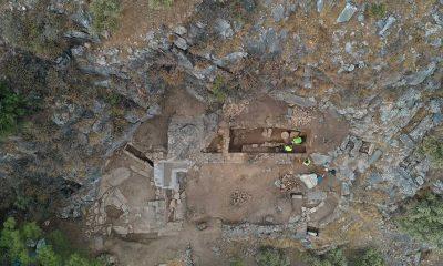 Priene Antik Kenti'nde yapılan ilk kiliseye ulaşıldı