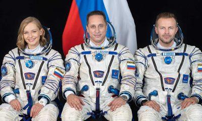 """Rusya, """"uzayda çekilecek ilk uzun metrajlı filmi"""" için ekibini uzaya gönderdi"""