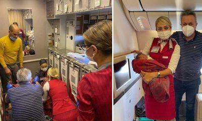 THY uçağında sancılanan kadının doğumunu gerçekleştiren Türk beyin cerrahının başarılı müdahalesi ABD basınında