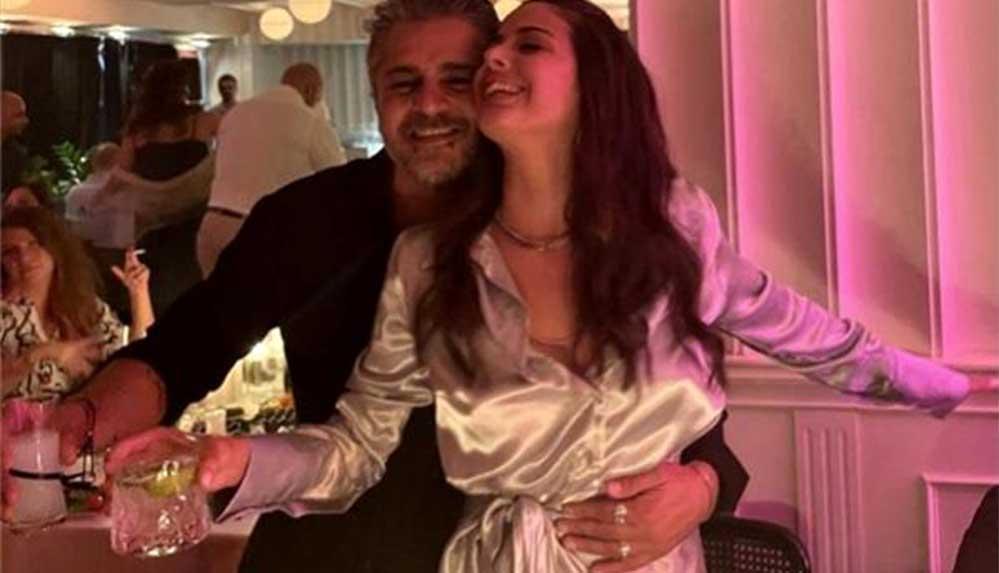 Oyuncu Umut Kurt ve sanat yönetmeni sevgilisi nişanlandı