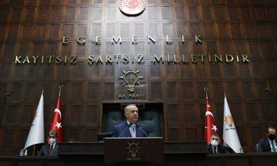 """Erdoğan: """"Kendilerine Mustafa Kemal'in askerleri diyenlerin, 'Mustafa Kemal'in itleri' diyerek hakaret edenlerin dümen suyuna girdiğini görmek bizim bile ağırımıza gidiyor"""""""