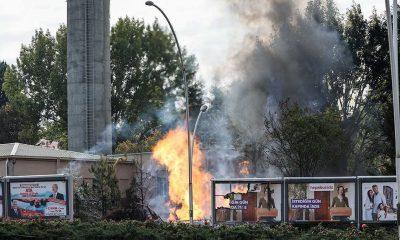 Ankara'da art arda iki patlama