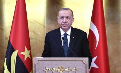 """Erdoğan: """"Afrika kıtasındaki halkları ayrım yapmadan bağrımıza basıyoruz"""""""