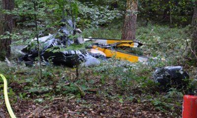 Almanya'da helikopter kazasında 3 kişi öldü