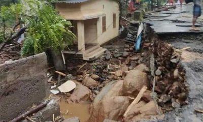 Hindistan'ın güneyindeki şiddetli yağışlar sonucu 8 kişi öldü, 12 kişi kayboldu